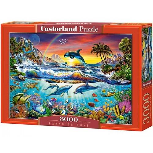 Paradicsomi öböl, 3000 darabos Castorland puzzle