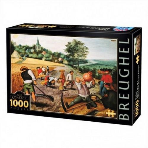Nyár - Pieter Breughel, D-Toys puzzle 1000 db