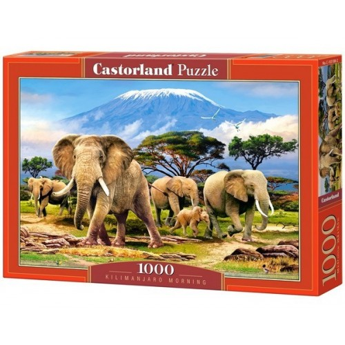KILIMANJARO MORNING, Castorland Puzzle 1000 pc