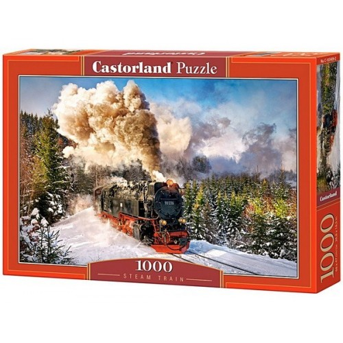 Steam Train, Castorland Puzzle 1000 pc