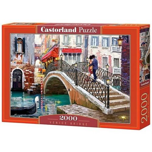 Híd Velencében - Richard Macneil, Castorland puzzle 2000 db