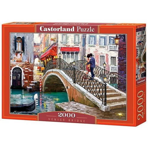 Venice Bridge, Castorland puzzle 2000 pc