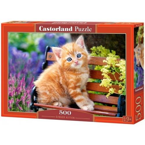 Cica a padon, 500 darabos Castorland Puzzle