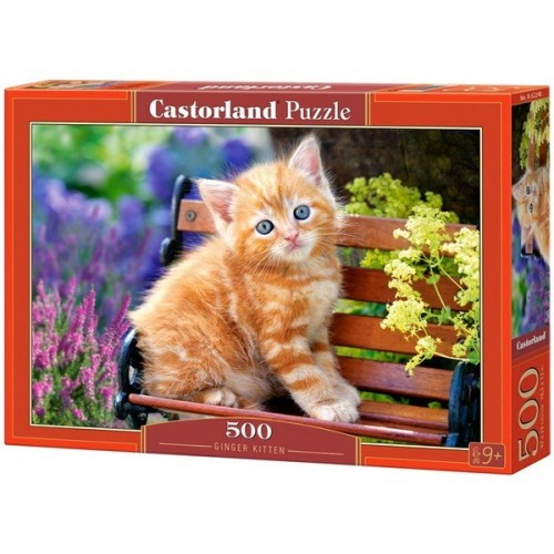 Cica a padon, Castorland Puzzle 500 db