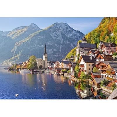 Hallstatt - Austria, Castorland Puzzle 500 pcs