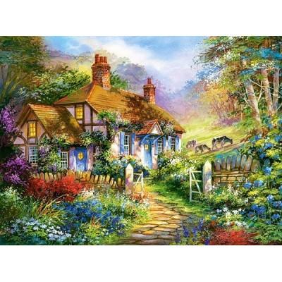 Ház az erdő szélén, Castorland puzzle 3000 db