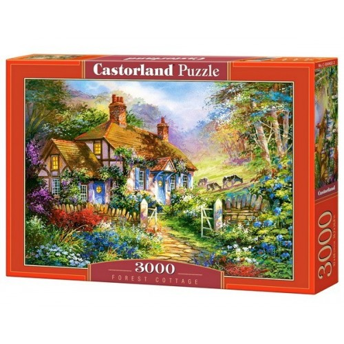 Forest Cottage, Castorland puzzle 3000 pc