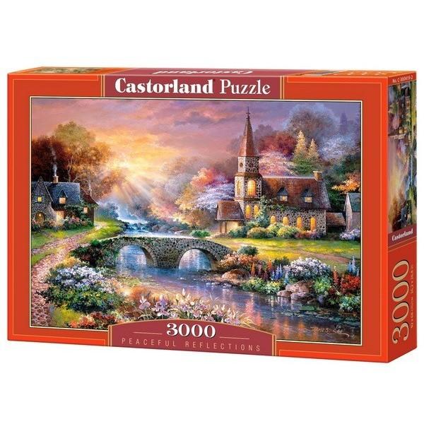 Békés harmónia, Castorland puzzle 3000 db