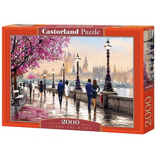 Along the River, Castorland puzzle 2000 pc