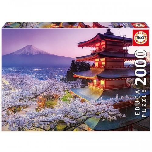 Fuji Hegy - Japán, Educa Puzzle 2000 darabos képkirakó