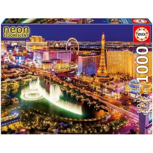 Las Vegas, Educa Neon Puzzle 1000 pcs
