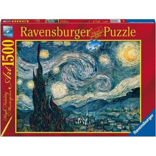 Csillagos éjszaka - Van Gogh, Ravensburger Puzzle 1500 db