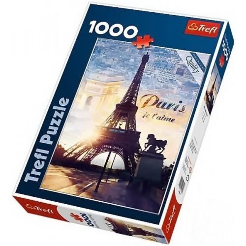Ébredő Párizs - 1000 darabos Trefl puzzle