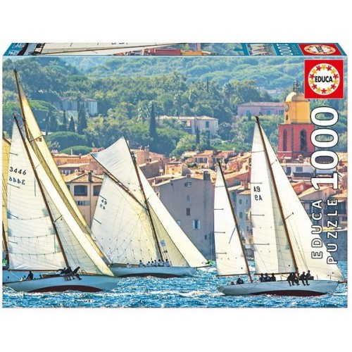 Sailing at Saint Tropez, Educa Puzzle 1000 pc