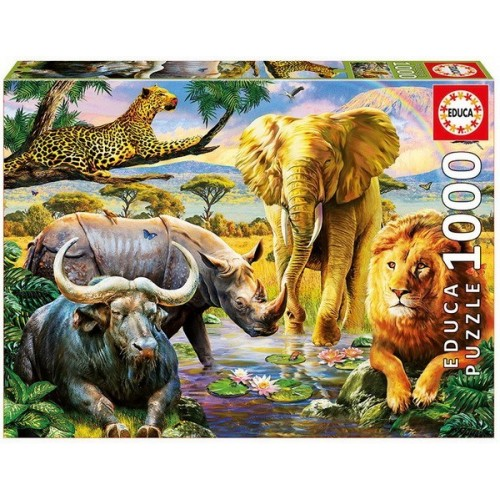 The Big Five, Educa Puzzle 1000 pc