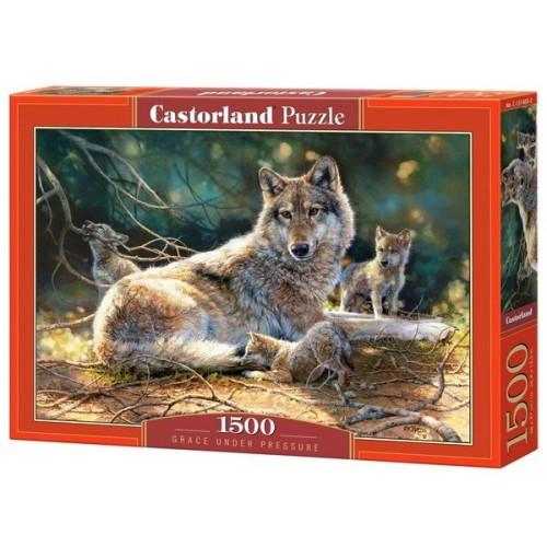 Farkas a kölykeivel, Castorland Puzzle 1500 db
