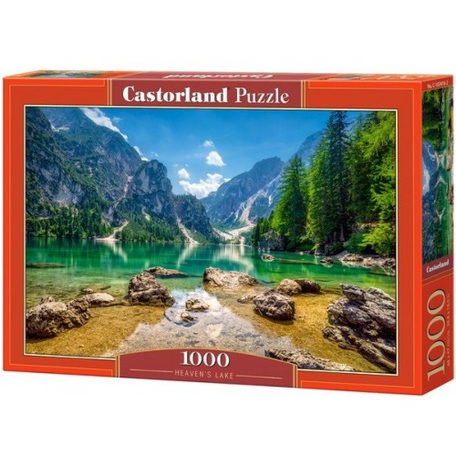 Heaven's Lake - Italy, Castorland Puzzle 1000 pc