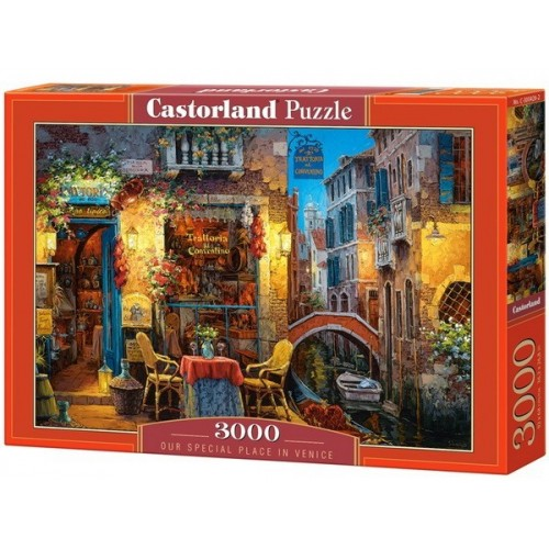 Our Special Place in Venice, Castorland puzzle 3000 pc