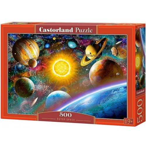 Outer Space, Castorland Puzzle 500 pcs