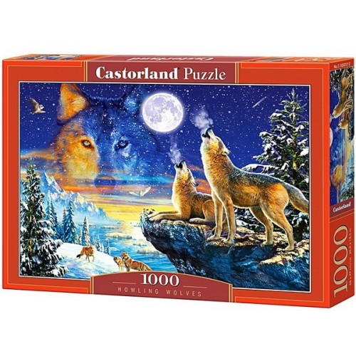 Howling Wolves, Castorland Puzzle 1000 pc