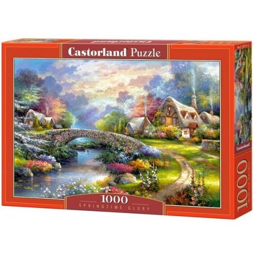 Dicső tavasz, Castorland Puzzle 1000 db