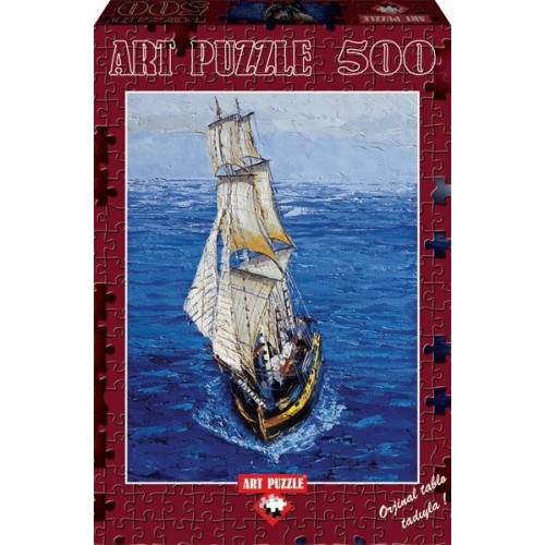 Sailing Boat, ART PUZZLE 500 pc puzzle