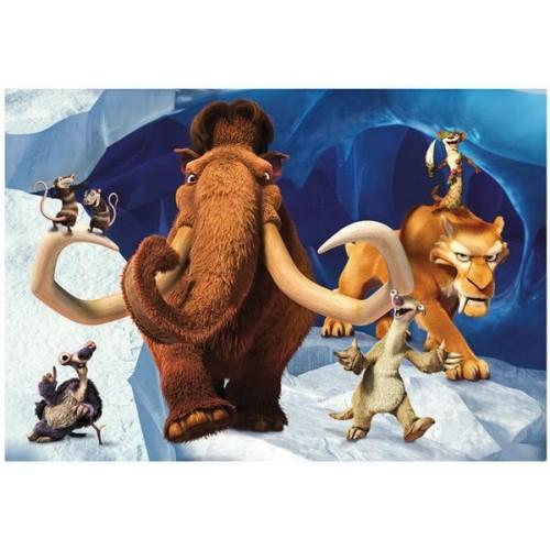 Ice Age 5 - Collision Course, Dino Puzzle 2x48 pcs