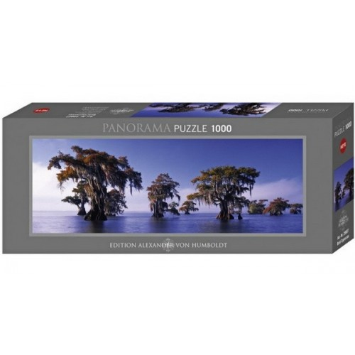 Bald Cypresses, Heye - Edition Humboldt panorama puzzle, 1000 pc