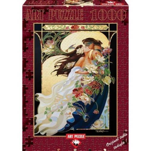 A Romantic Couple, ART PUZZLE 1000 pc puzzle