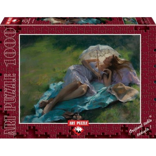 Pleasure at Noon, ART PUZZLE 1000 pc puzzle