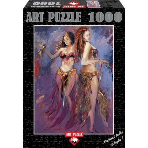 Belly-Dancer, ART PUZZLE 1000 pc puzzle