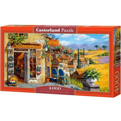 Colors of Tuscany - Viktor Shvaiko, Castorland Puzzle 4000 pc