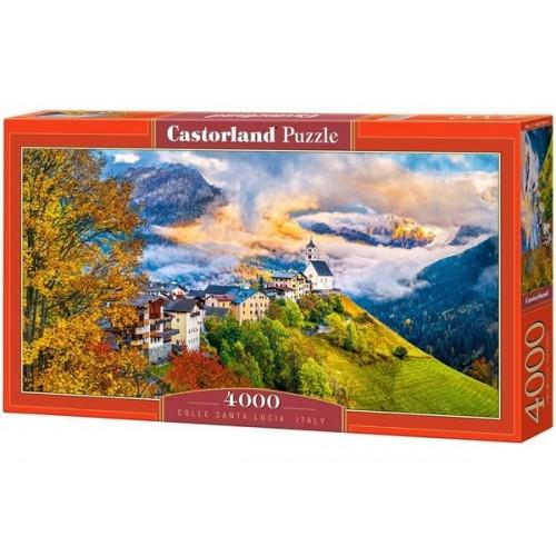 Colle Santa Lucia - Olaszország, Castorland Puzzle kirakó 4000 db