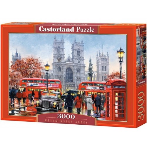Westminster abbey - Richard Macneil, Castorland puzzle 3000 pc