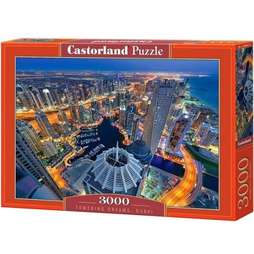 Towering Dreams - Dubai, Castorland puzzle 3000 pc