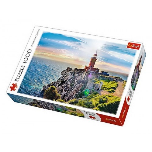 The Melagavi Lighthouse - Greece, Trefl Puzzle, 1000 pcs