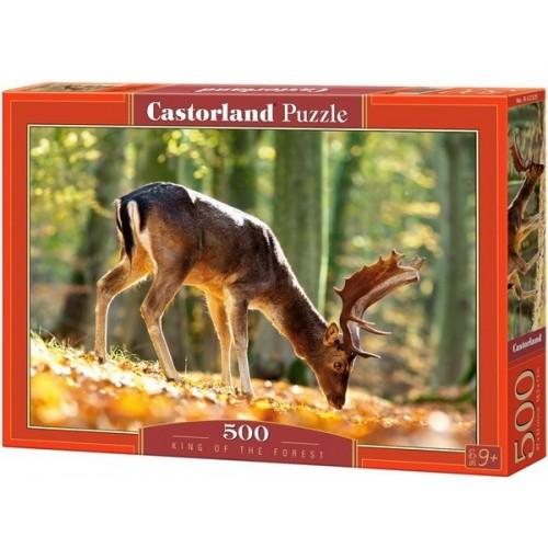 Az erdő királya, 500 darabos Castorland puzzle