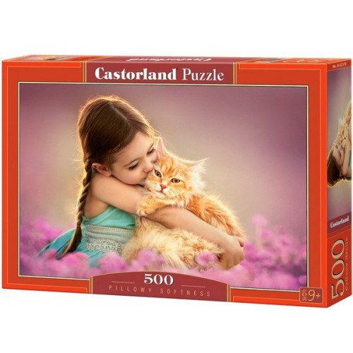 Pillowy Softness, Castorland Puzzle 500 pcs