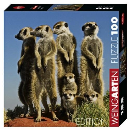 Meerkats, Heye - Weingarten puzzle, 100 pc