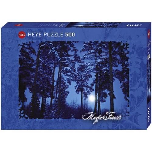 Telihold - Mágikus Erdő, 500 darabos Heye puzzle
