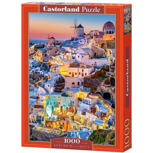 Santorini - esti fények, Castorland Puzzle 1000 darabos képkirakó