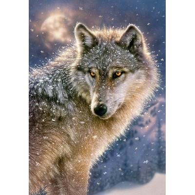 Lone Wolf, Castorland Puzzle 500 pcs