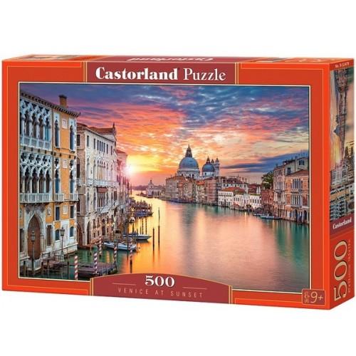Velencei naplemente, 500 darabos Castorland puzzle