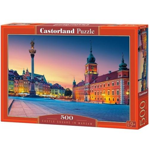 Kastély tér - Varsó, 500 darabos Castorland puzzle
