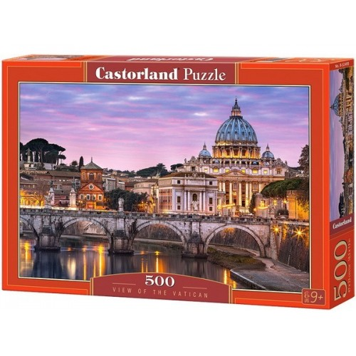 View of the Vatican, Castorland Puzzle 500 pcs