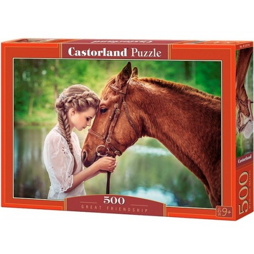 Great Friendship, Castorland Puzzle 500 pcs