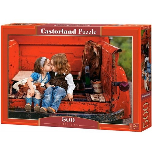 First Kiss, Castorland Puzzle 500 pcs