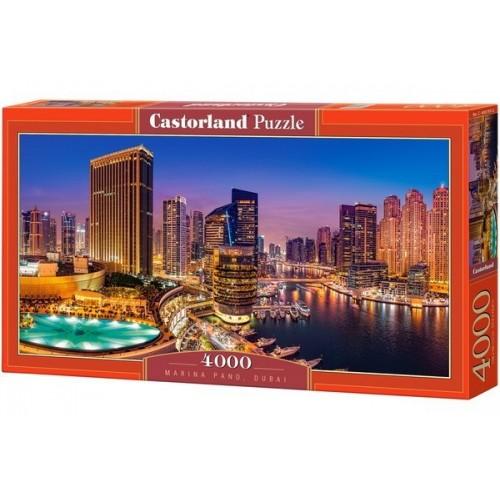 Dubai - jachtkikötő, Castorland Puzzle kirakó 4000 db