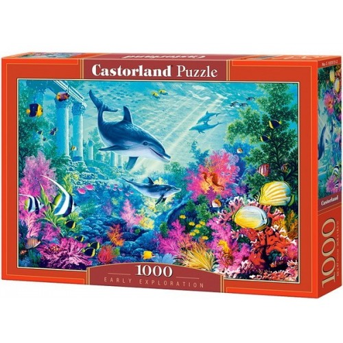 Vízalatti világ delfinekkel, Castorland Puzzle 1000 db