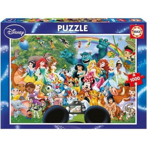Walt Disney csoportkép, Educa 1000 darabos puzzle